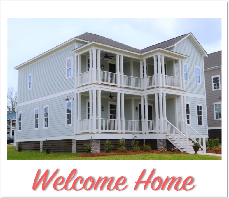 New Home at The Waters Pike Road on Lake Cameron Drive
