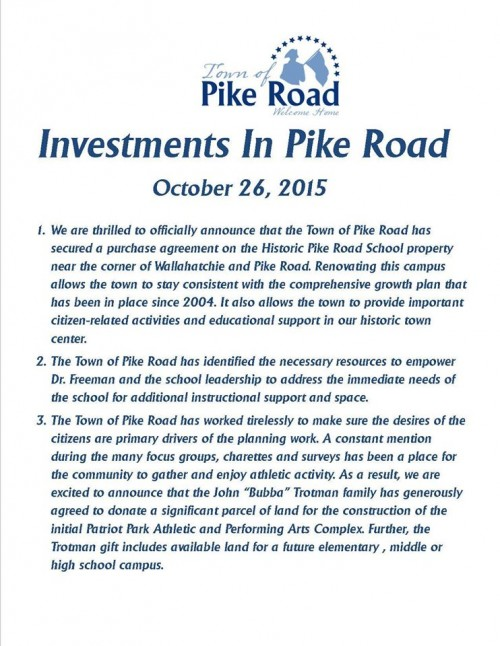 Town of Pike ROad