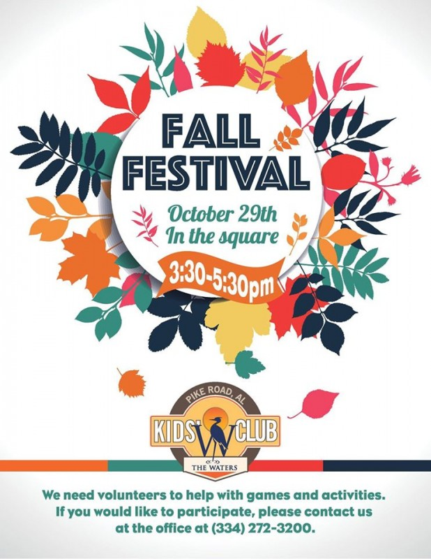 Annual fall Festival at The Waters