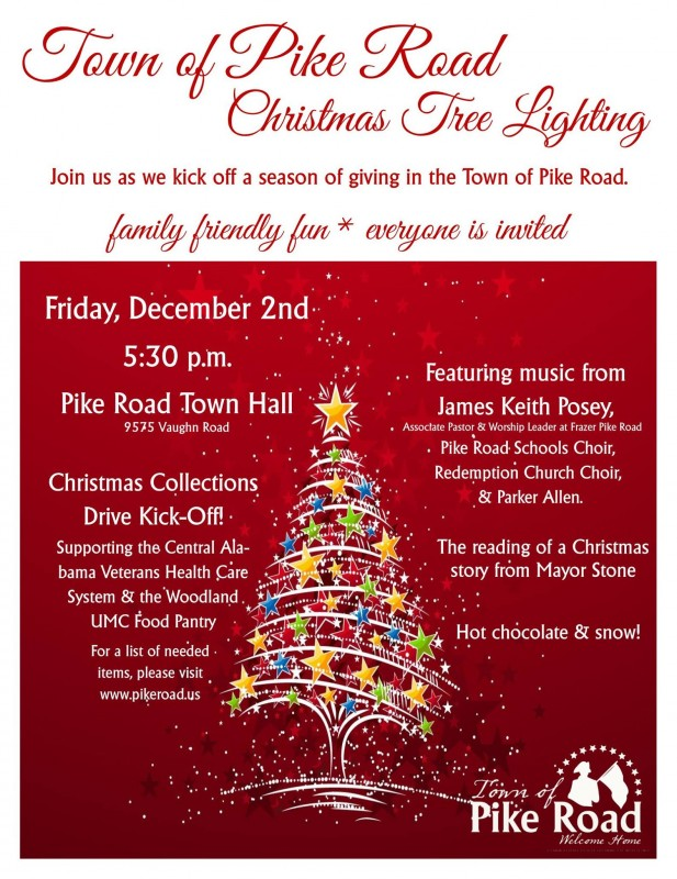 Town of Pike Road Tree Lighting