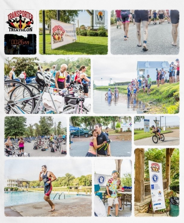 Transporter Triathlon at The Waters PIke Road AL