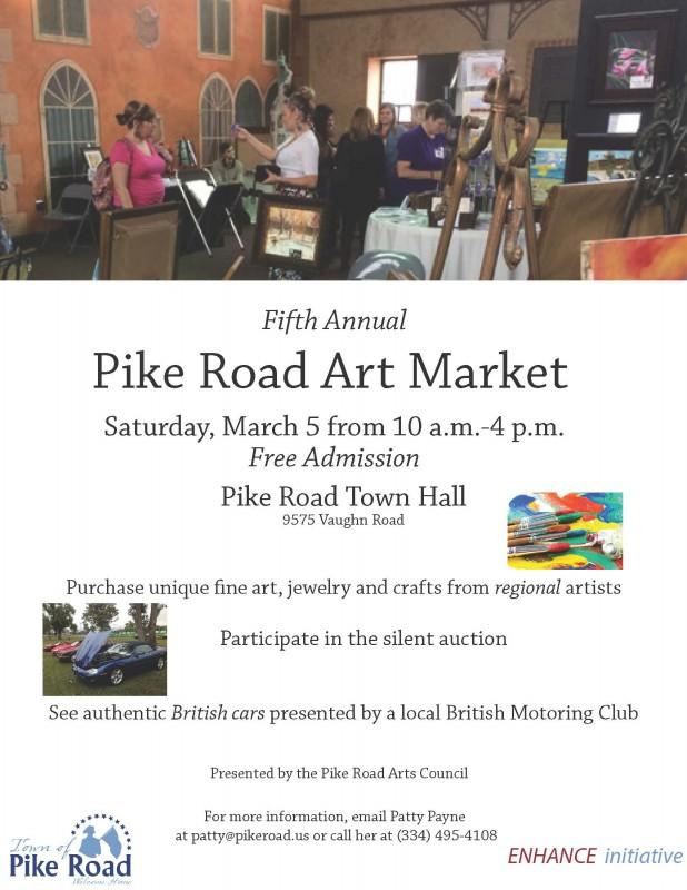 Pike Road Art market