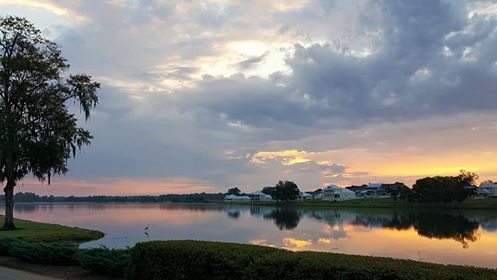 Sunrise over Lake cameron