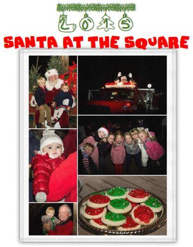 Santa at The Square