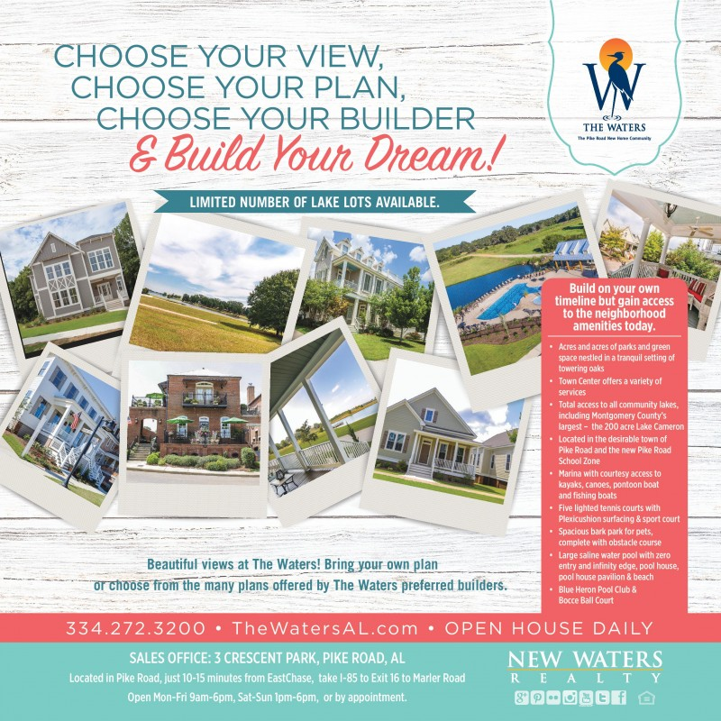New Homes at The Waters