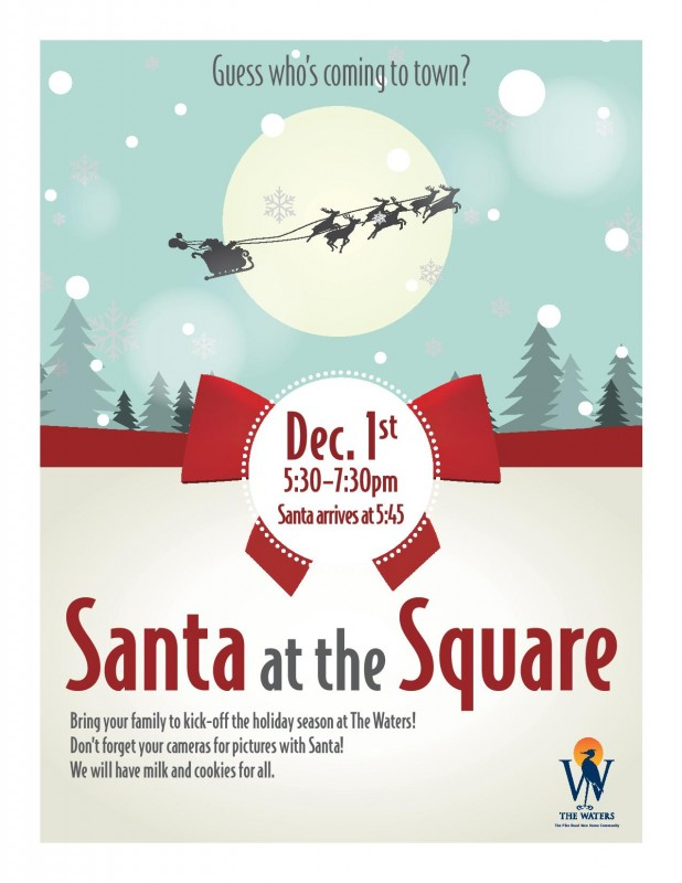 Santa at The Square - The Waters AL