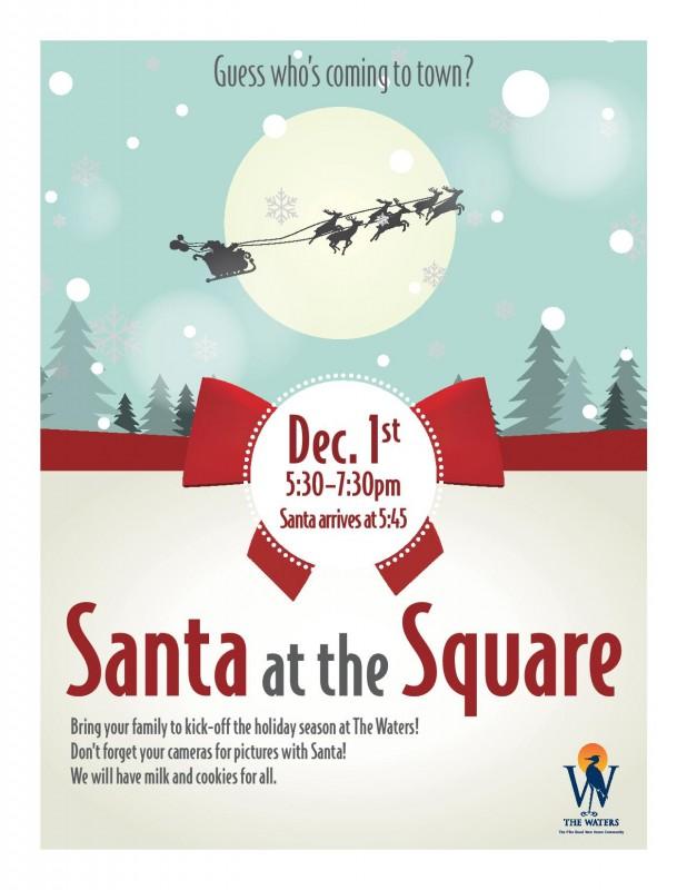 Santa at The Square - The Waters AL