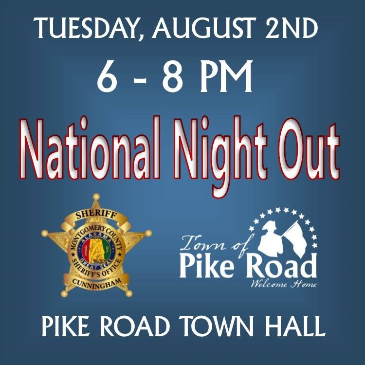 Town of Pike Road national night out