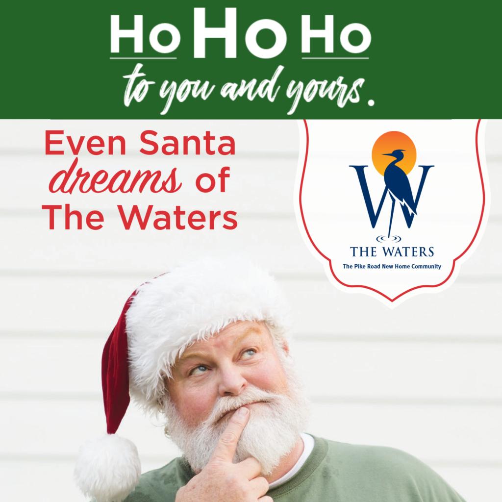 Ho Ho Ho!   The Waters AL