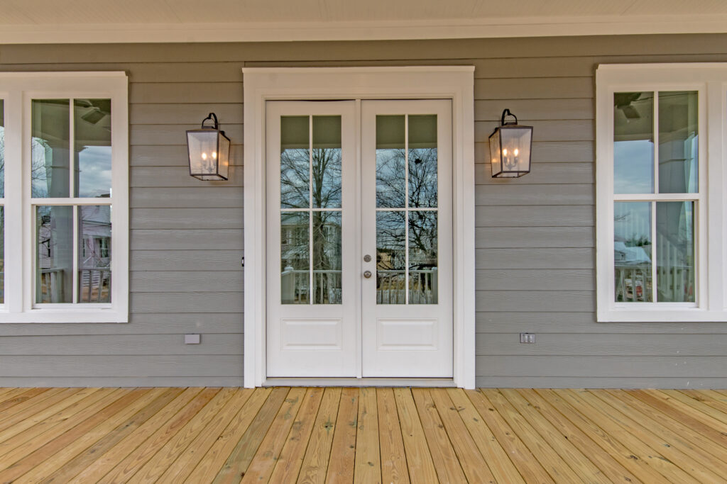 The Pearl | French Door Front Entry