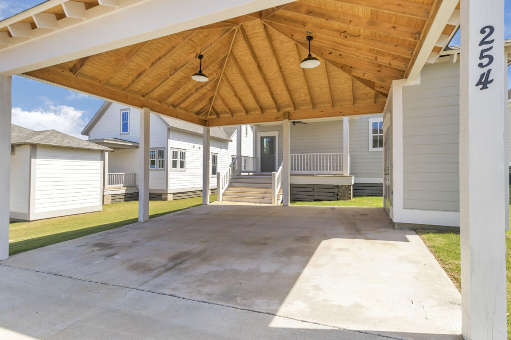The Lindsey | Carport with Storage
