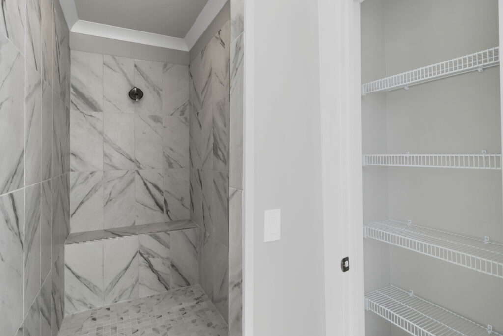 The Lindsey | Master Bath Shower